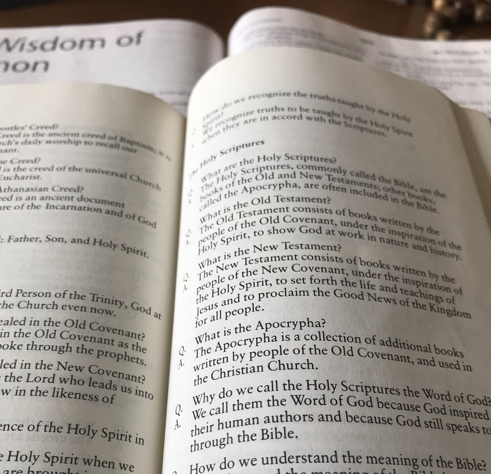 The Book of Common Prayer opened to p. 853