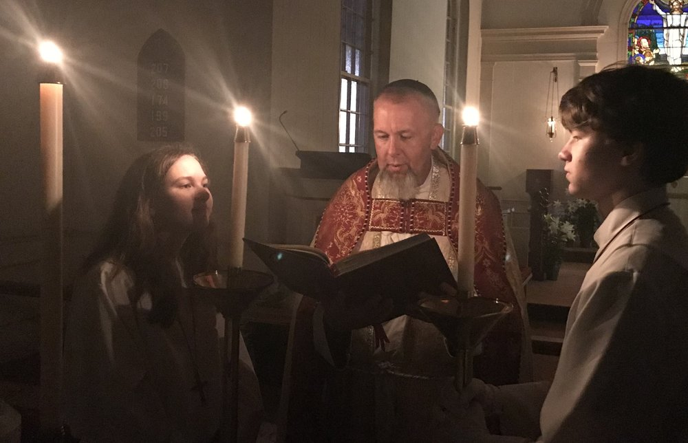The Exultet, from The Great Vigil of Easter 2018