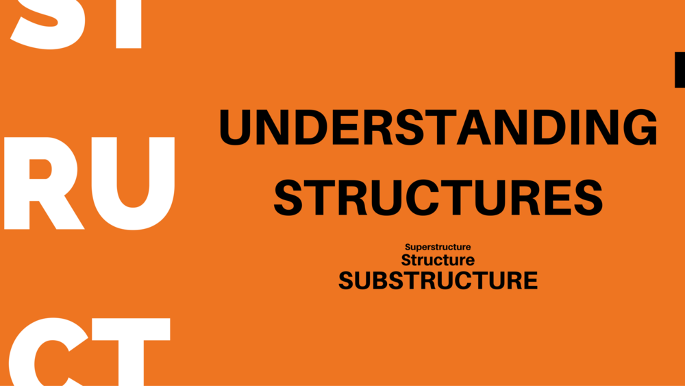 Superstructure, Structure, Substructure - EDGE Mentoring Image