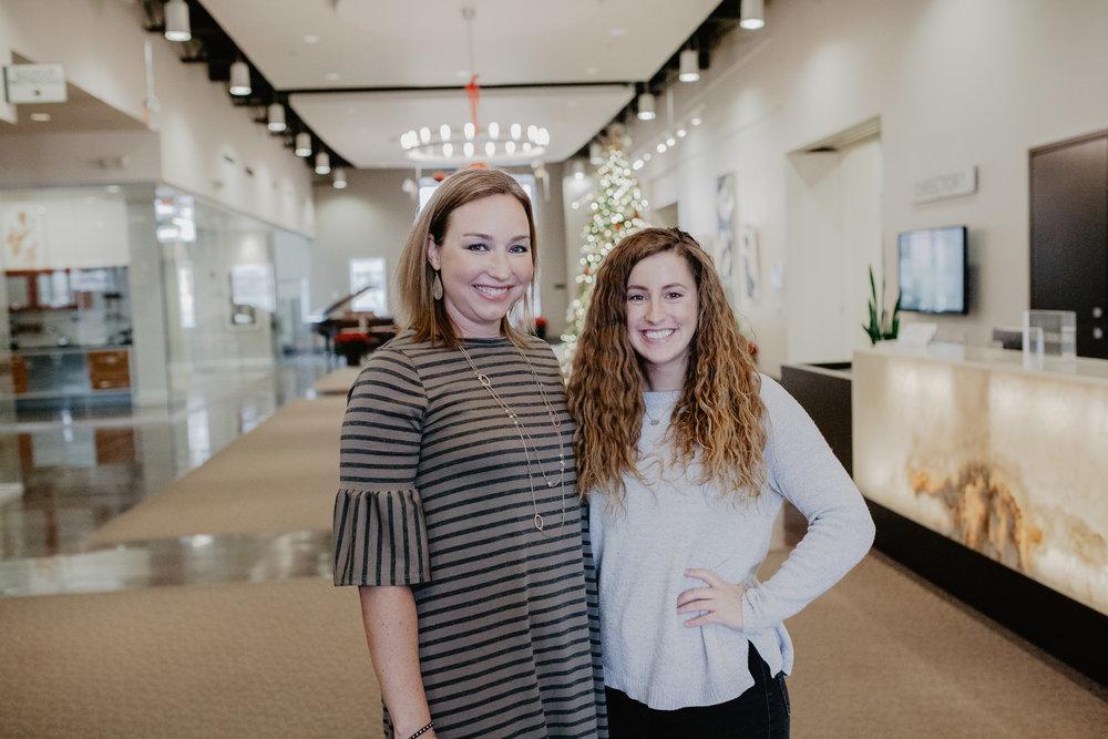 Meet Stacy Preston (left) and Megann Kramer (right)!