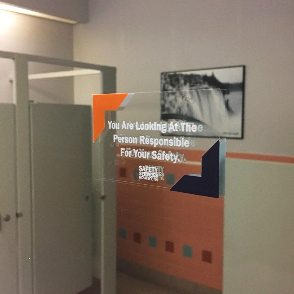 SSNS Mirror Sticker Ad