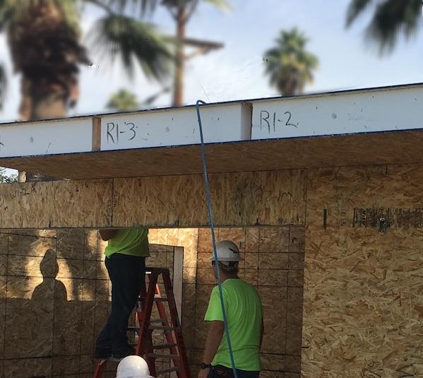 "10""SIP roof panel"