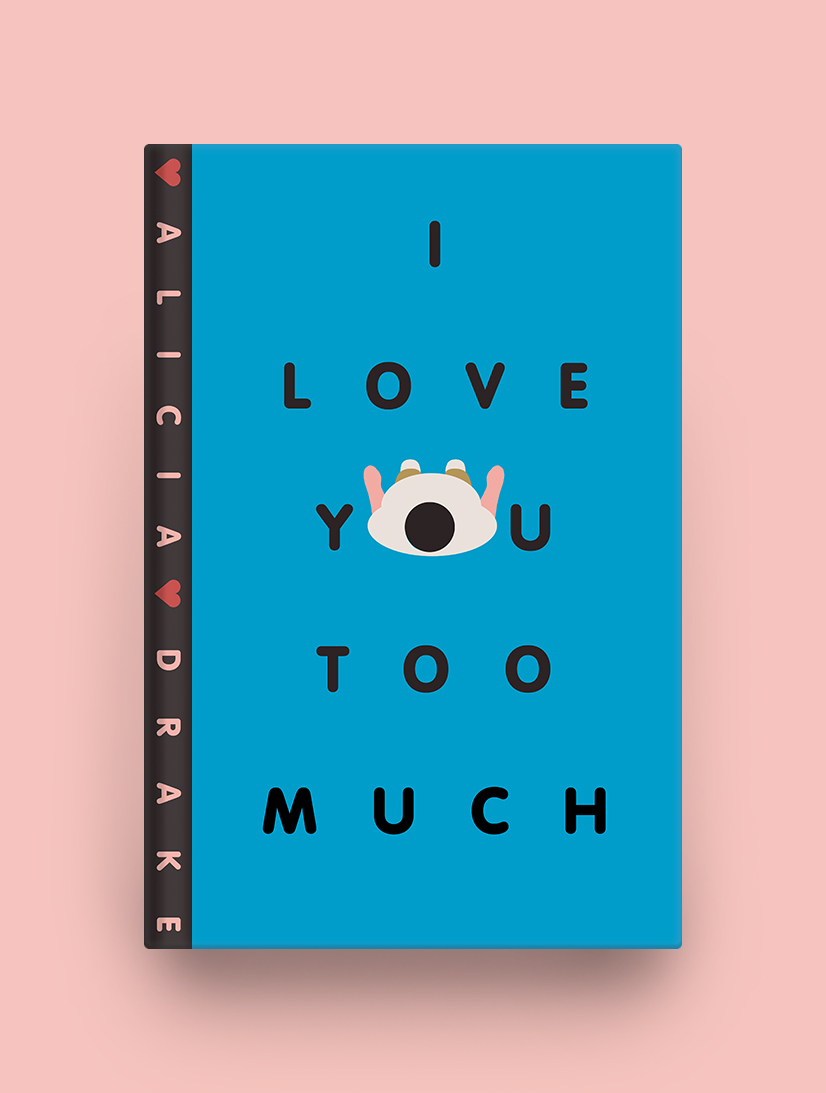 Killed Cover: I Love You Too Much  Spot Illustration from  Geoff McFetridge . Cover never published.