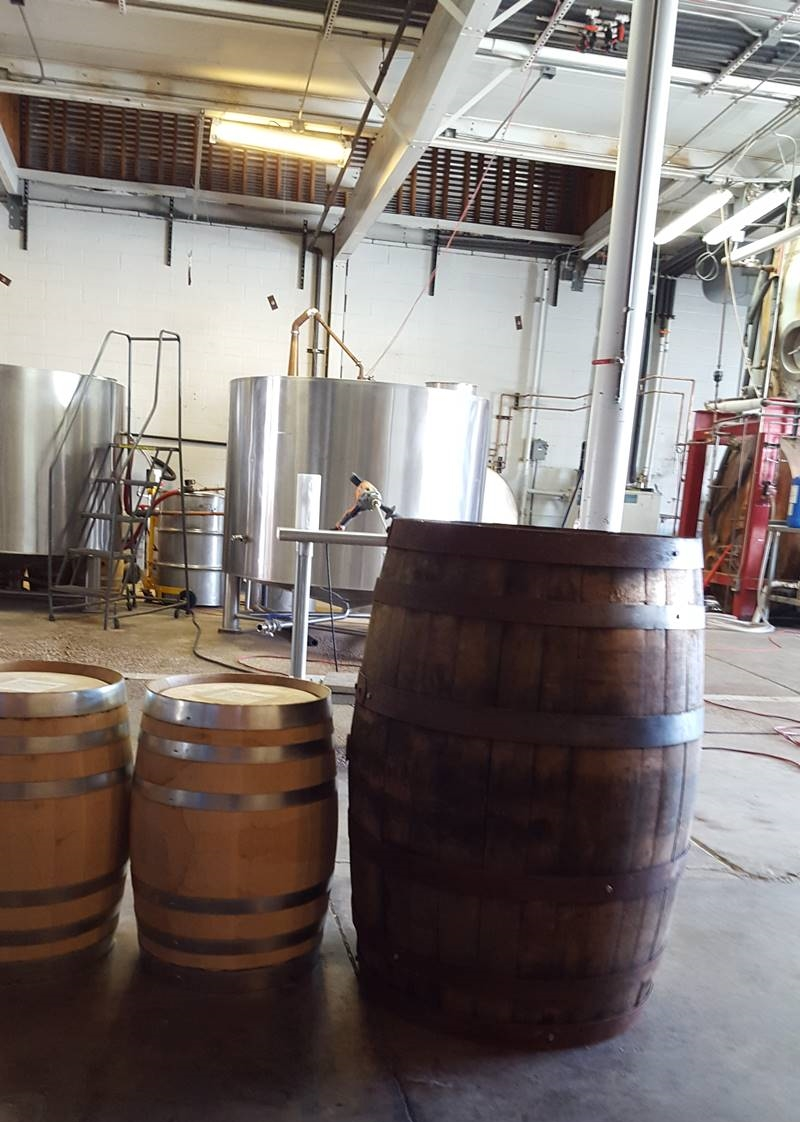 10-gallon barrels and 53-gallon barrel