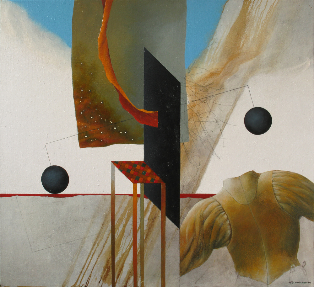 Outcome of the Battle, oil on canvas, 110x120 cm, 2011