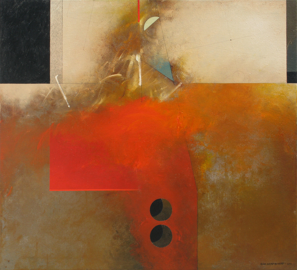 Outlet, oil on canvas, 110x120 cm, 2011