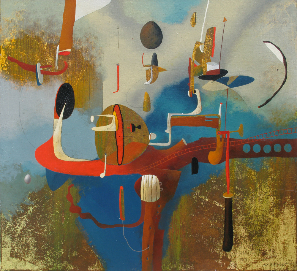 Shipwreck II, oil on canvas, 110x120 cm, 2011