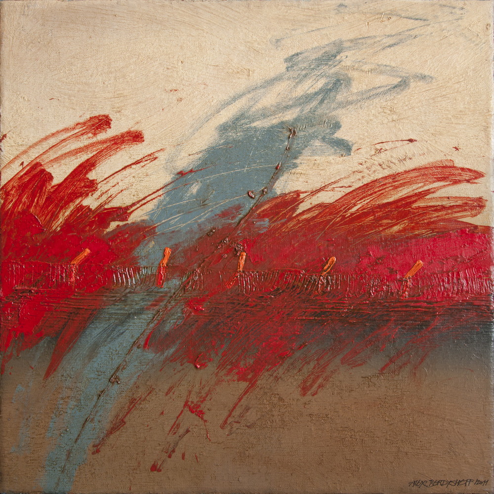 Terra IV, oil on canvas, 46x46 cm, 2011