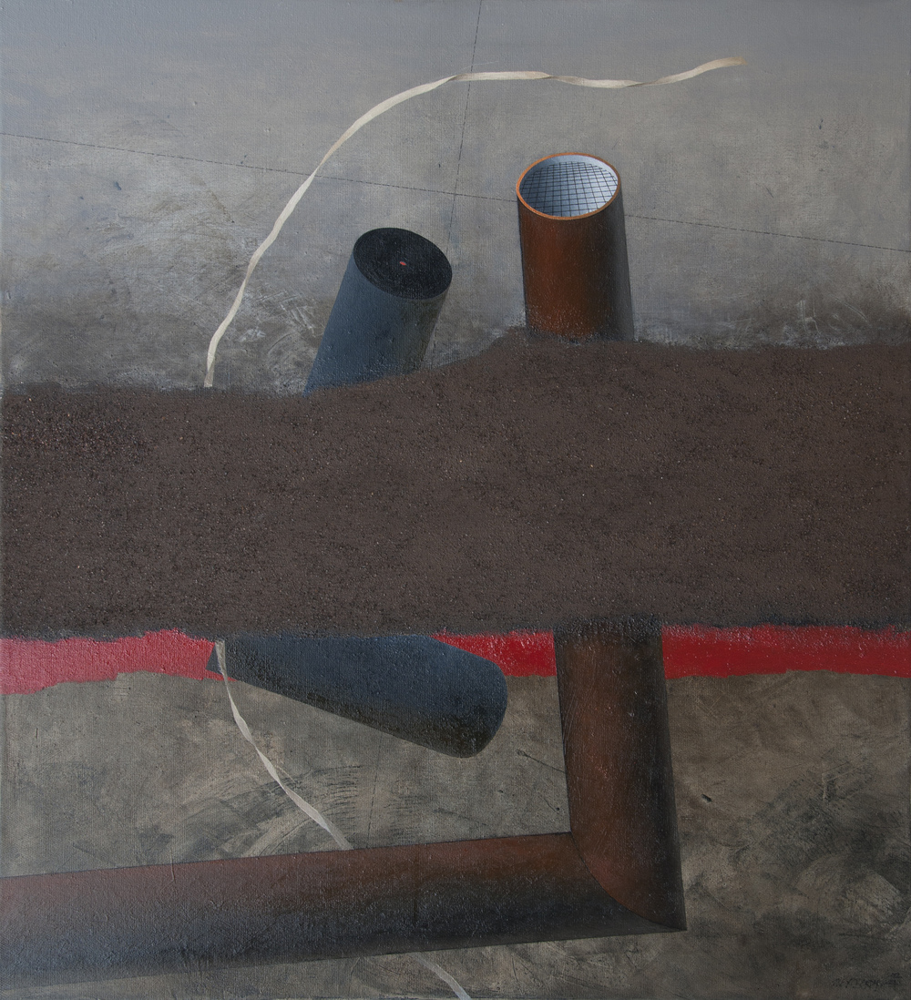 Outlook, oil on canvas, 120x110 cm, 2012