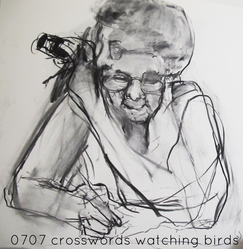 crosswords & watching birds #701