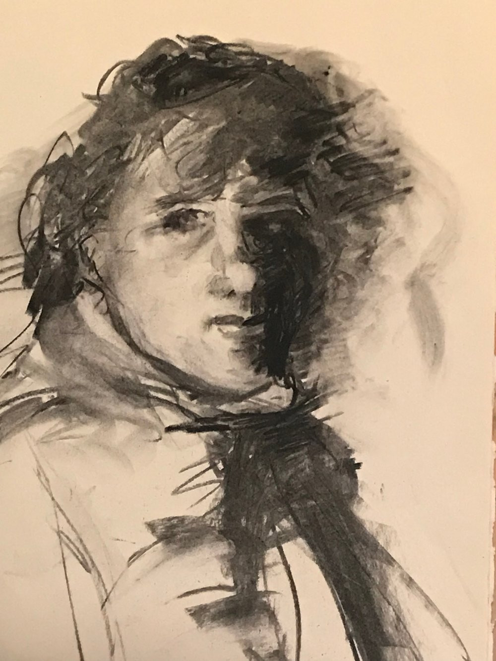 portrait 5 /after Rembrandt