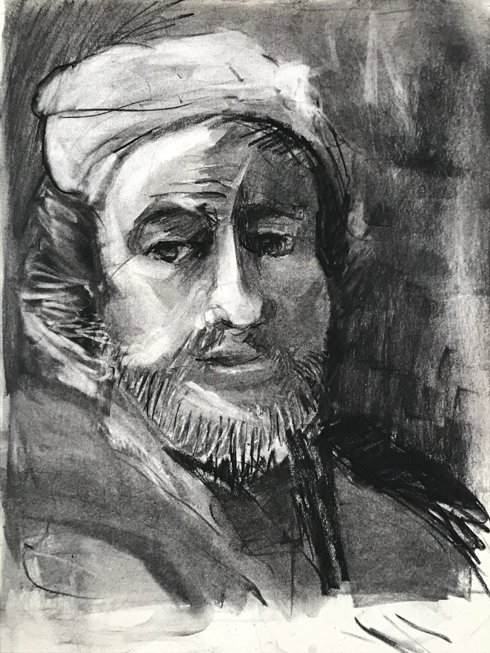 portrait 7 /after Rembrandt