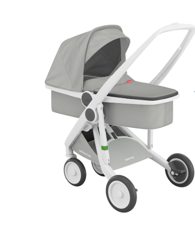 Stroller - Greentom for recycled and natural materials.