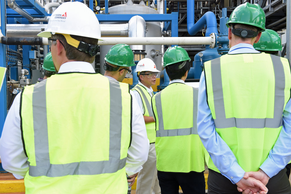 Principal engineer Tony Wu discusses results of a current gasification testing project at the National Carbon Capture Center.