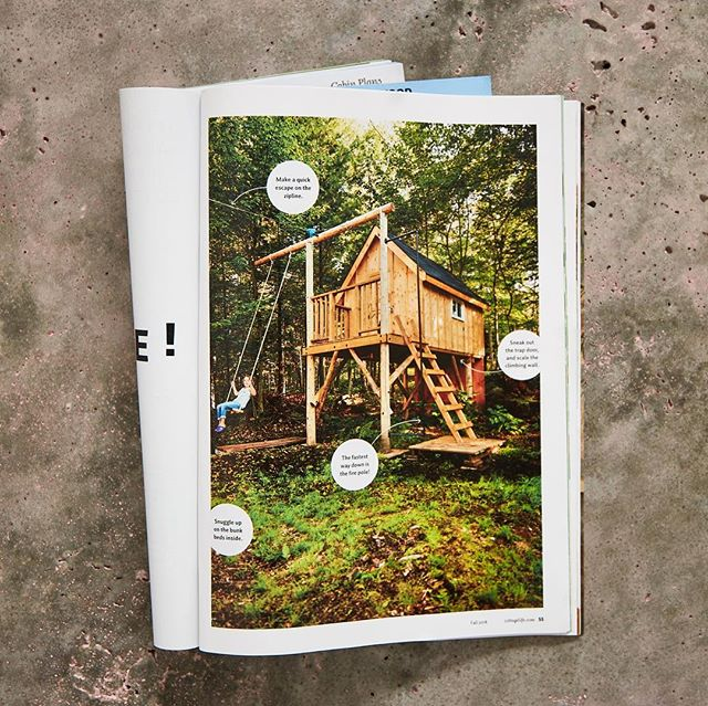 Just got the latest issue of @cottagelife ! Here's a couple shots I did. . . . . . #magazinephotography #cottagestyle #cottagelife #treefort