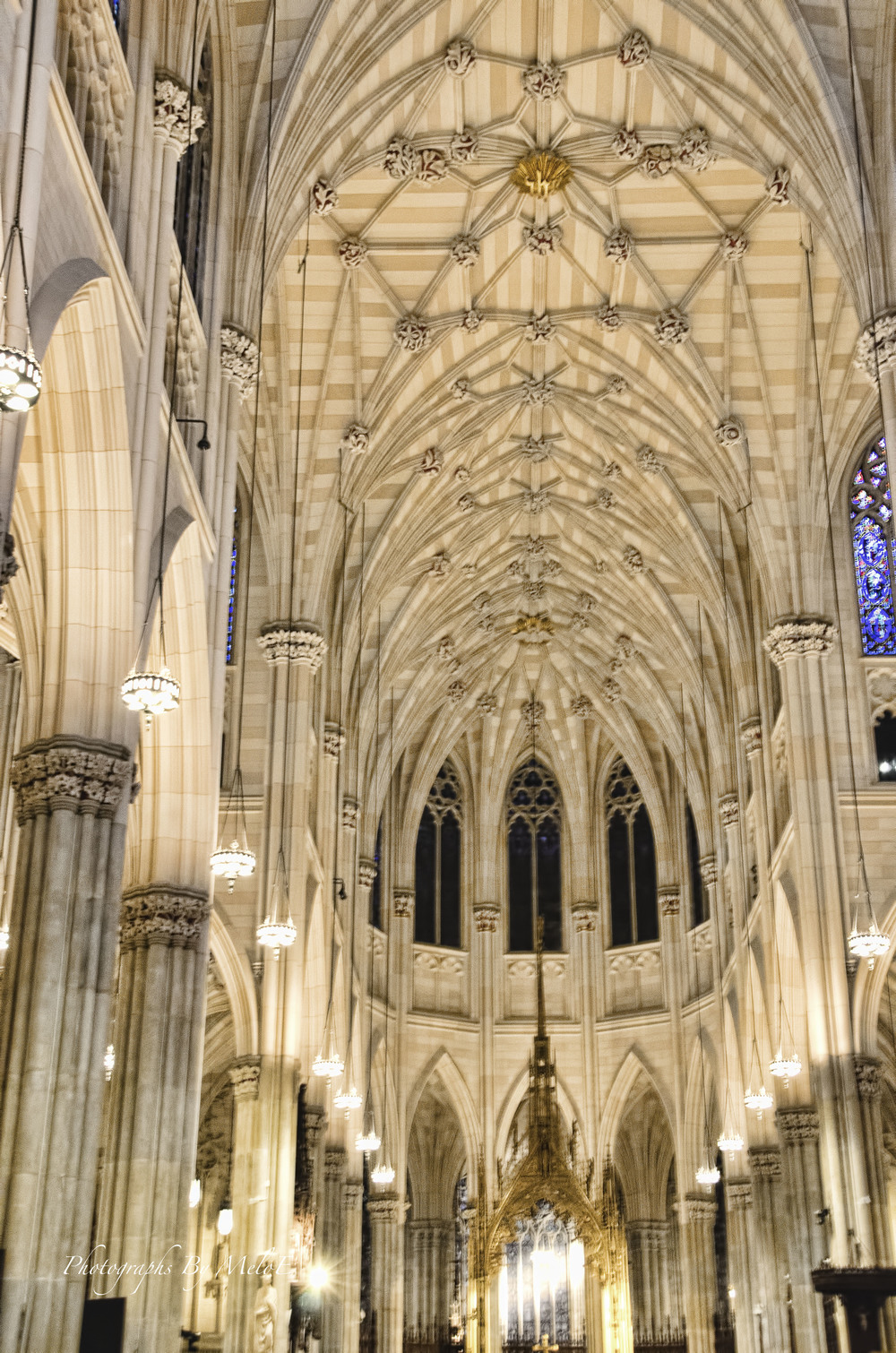 Ceiling of St. Patrick Cathedral, NYC