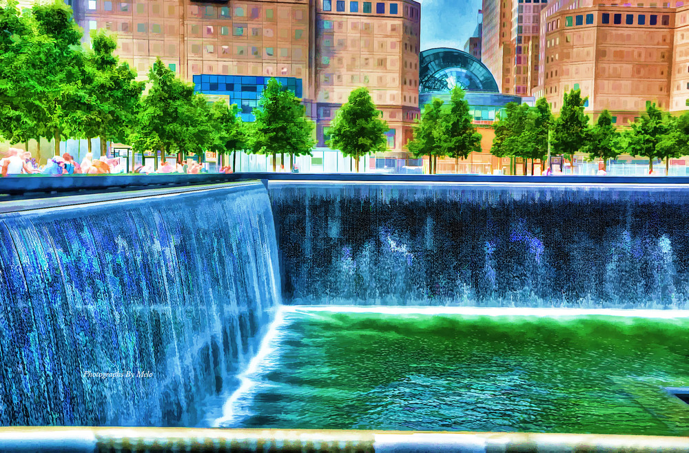 Reflecting Pool - 911 Memorial