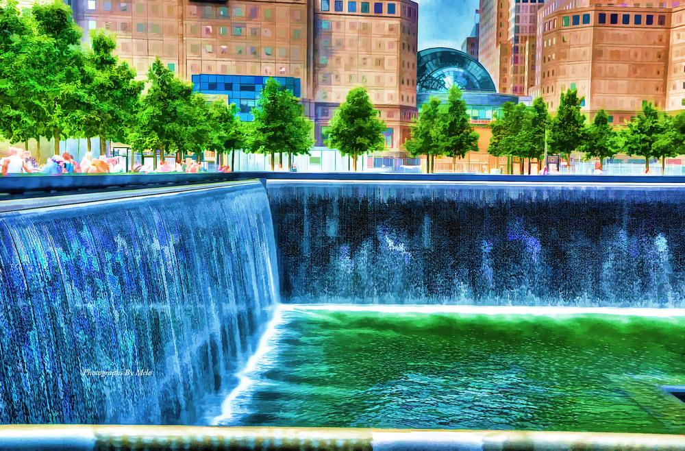 Reflecting Pool - 911 Memorial