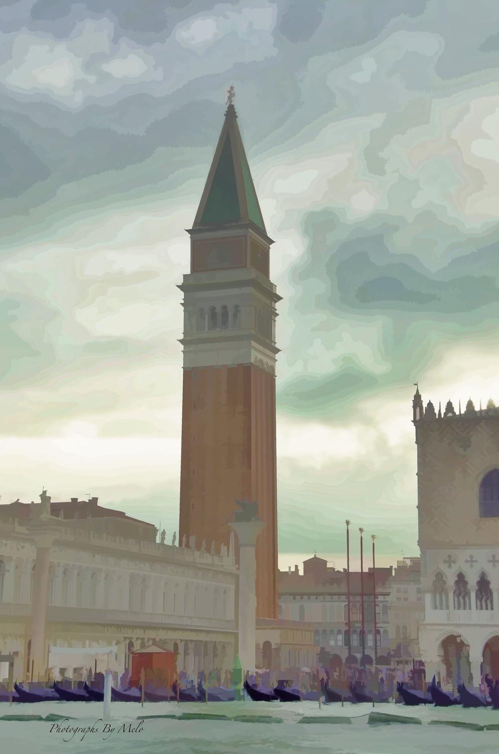 Tower at the Plaza De San Marco, Venice , Italy