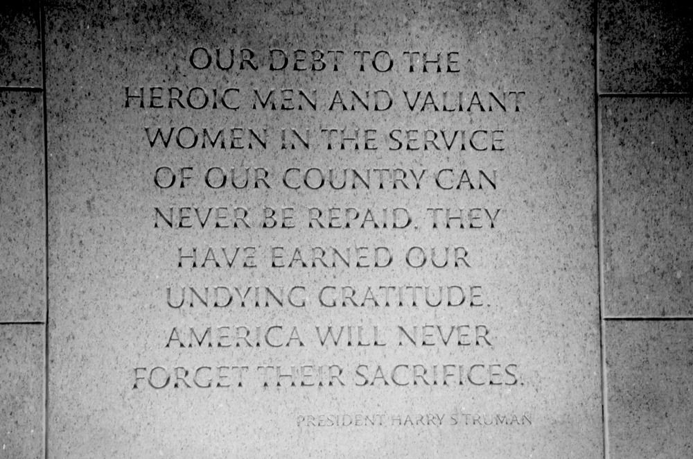 Dedication by Harry Truman