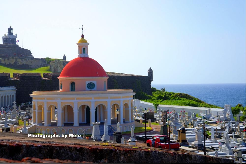 El Morro, cemetery , San Juan, Puerto Rico