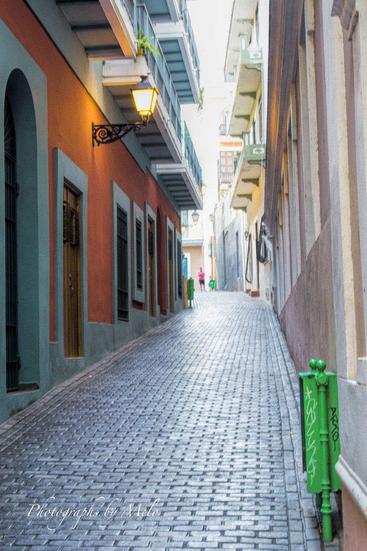 Street Alley Old San Juan