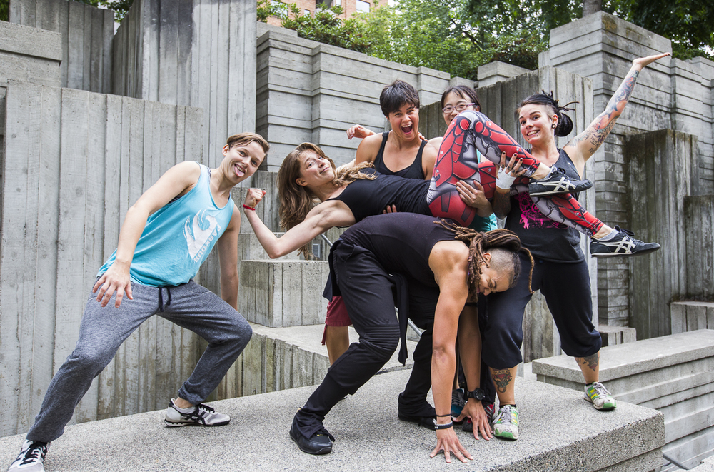 ADULT CLASSES - You don't need to leave the city to go on an adventure. We have adult classes every night of the week, indoor and out, all over the city. Explore new parks and public spaces while learning Parkour.