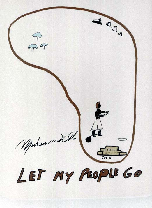 "Drawing by Ali, ""Let My People Go"""