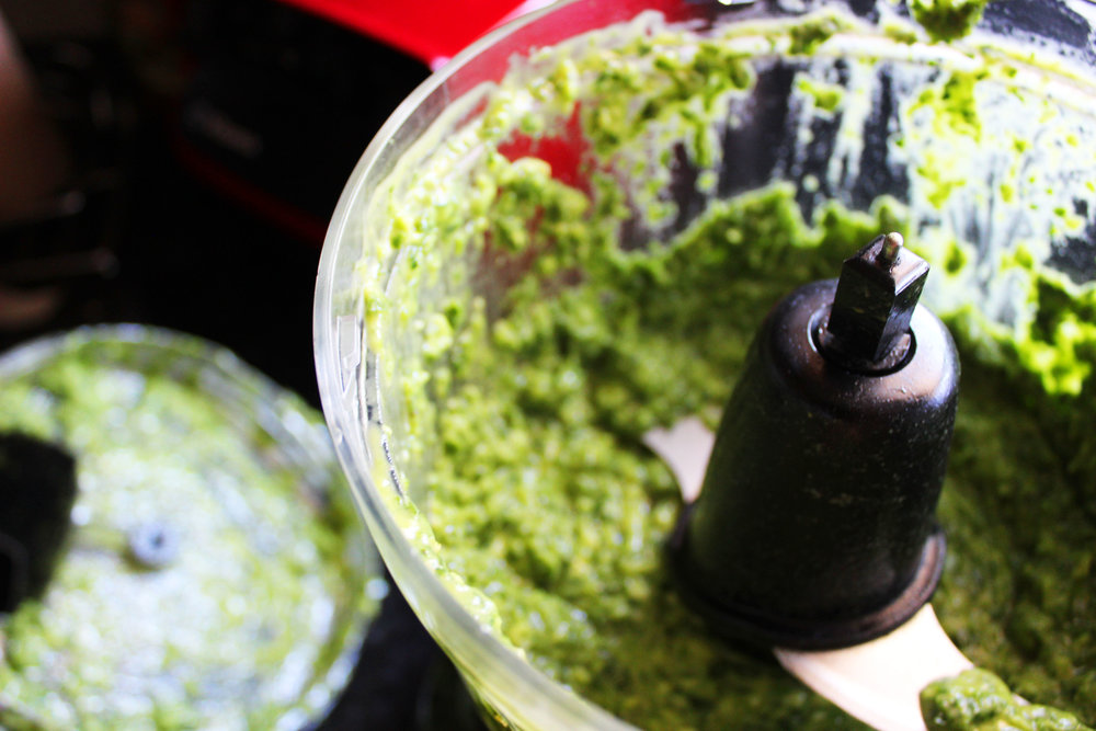 Green, blended, plant based goodness. So simple!