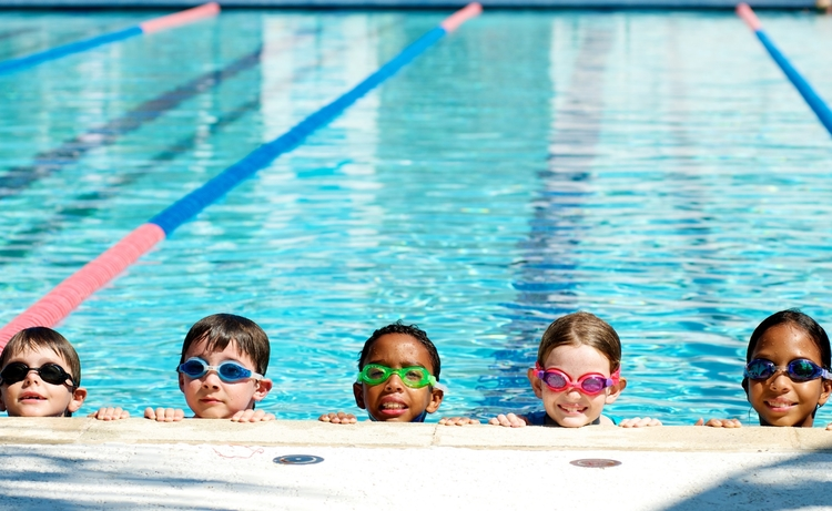 Swim Lessons    KCPC offers group swimming lessons at some of its community pool locations. Small class sizes and one on one instructions make learning easy for children of any age. Classes run throughout the summer in two week sessions.