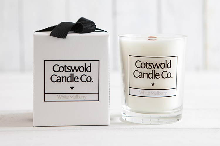 Cotswold Candle and box.