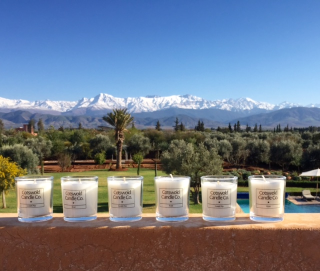 Cotswold Candle Company now available in Morocco!