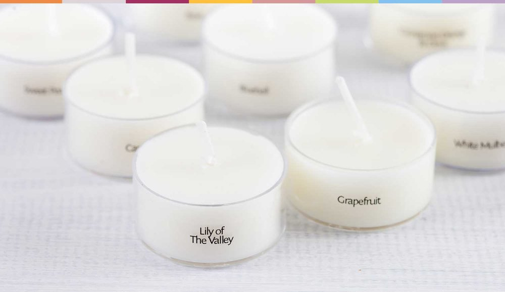 Scented Tealight Sample Pack