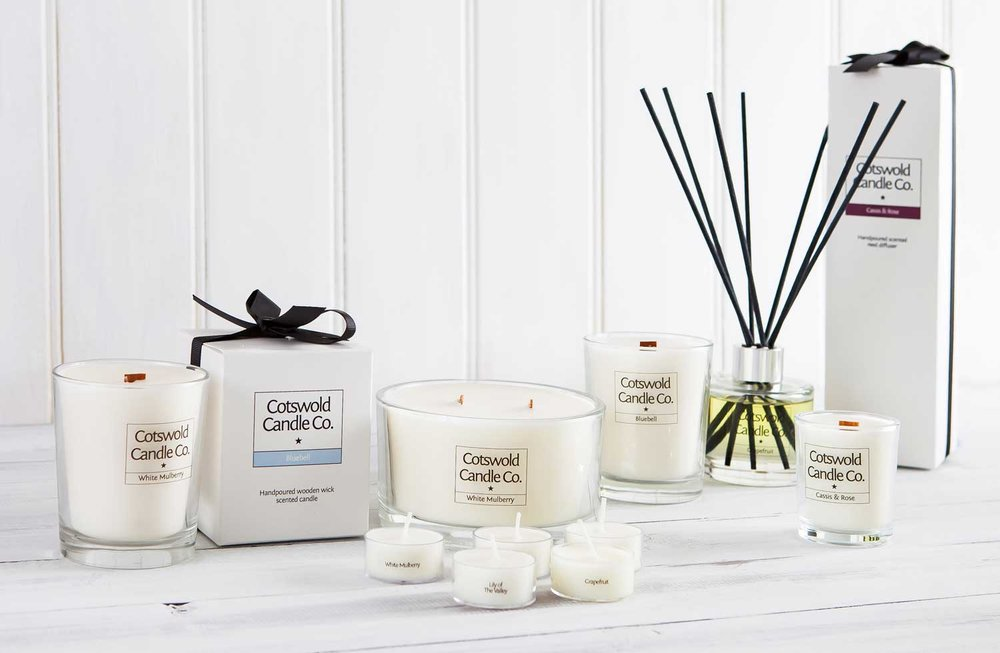Cotswold Candle Collection.