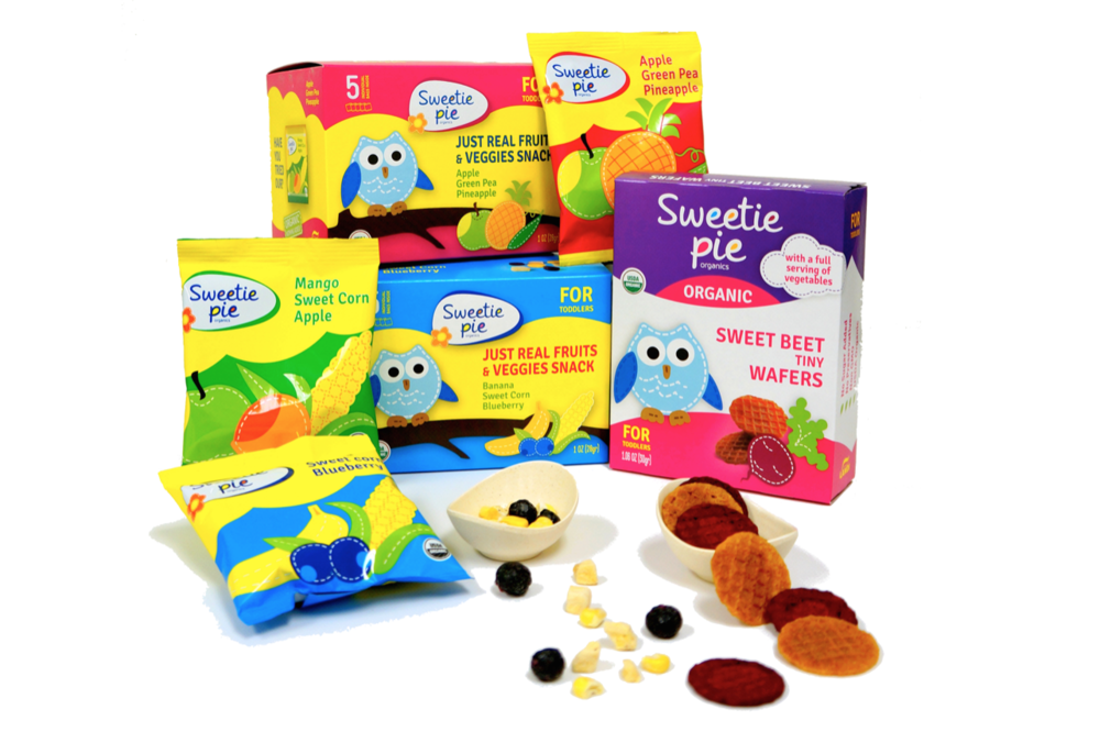Sweetie Pie Organics Toddler Snacks