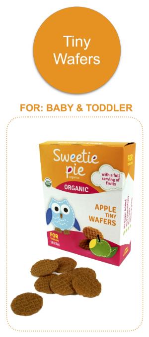 Sweetie Pie Organics Tiny Wafers