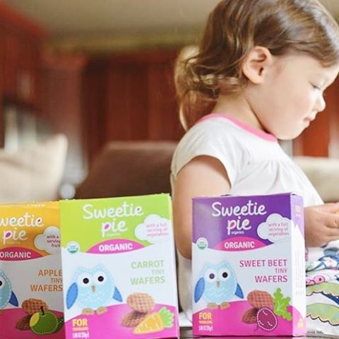 Our Tiny Wafers contain at least 50% of real fruits and veggies. Tiny Wafers have a crunch, that kids like, but dissolve easily making no mess. Recommended for kids 12 months and older. Available in 3 flavors. Each Box (1.06 OZ) has a full serving of fruits or vegetables; 3 servings per box.