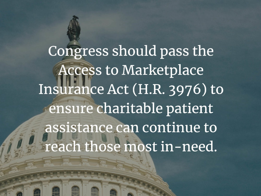 MAP Gains Momentum - We support commonsense legislation to protect nonprofit patient assistance. READ MORE