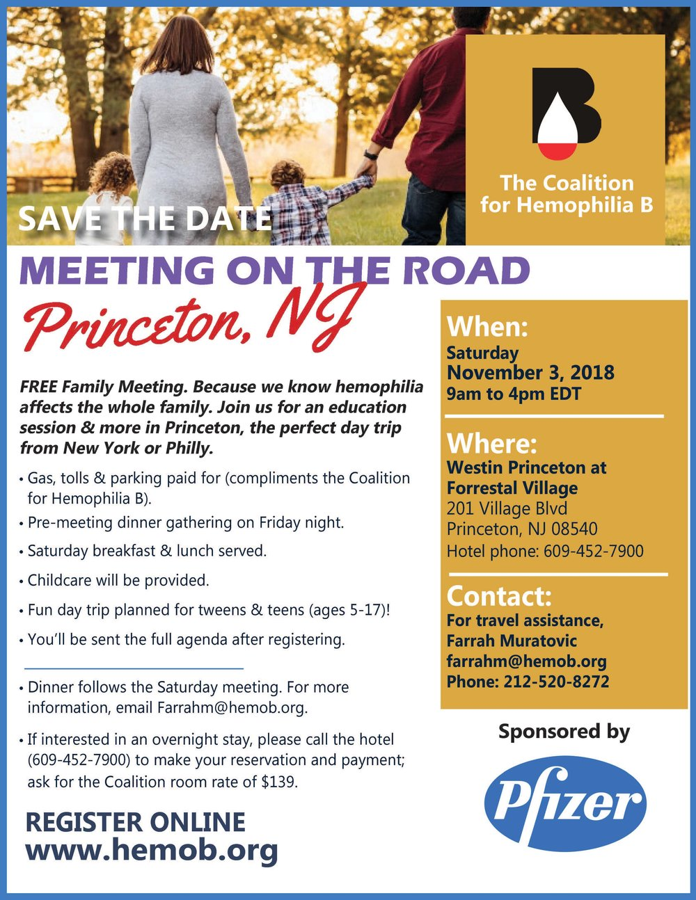 - Click the picture to download the official flyer for our Princeton meeting and share with your friends.