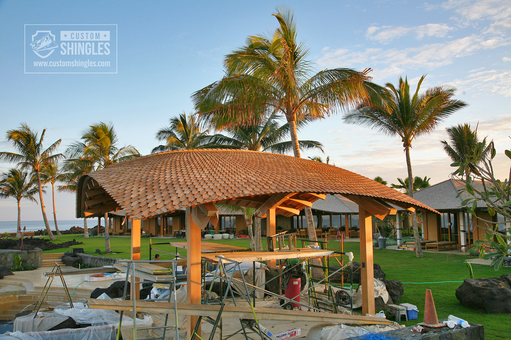 curved pavilion shingles