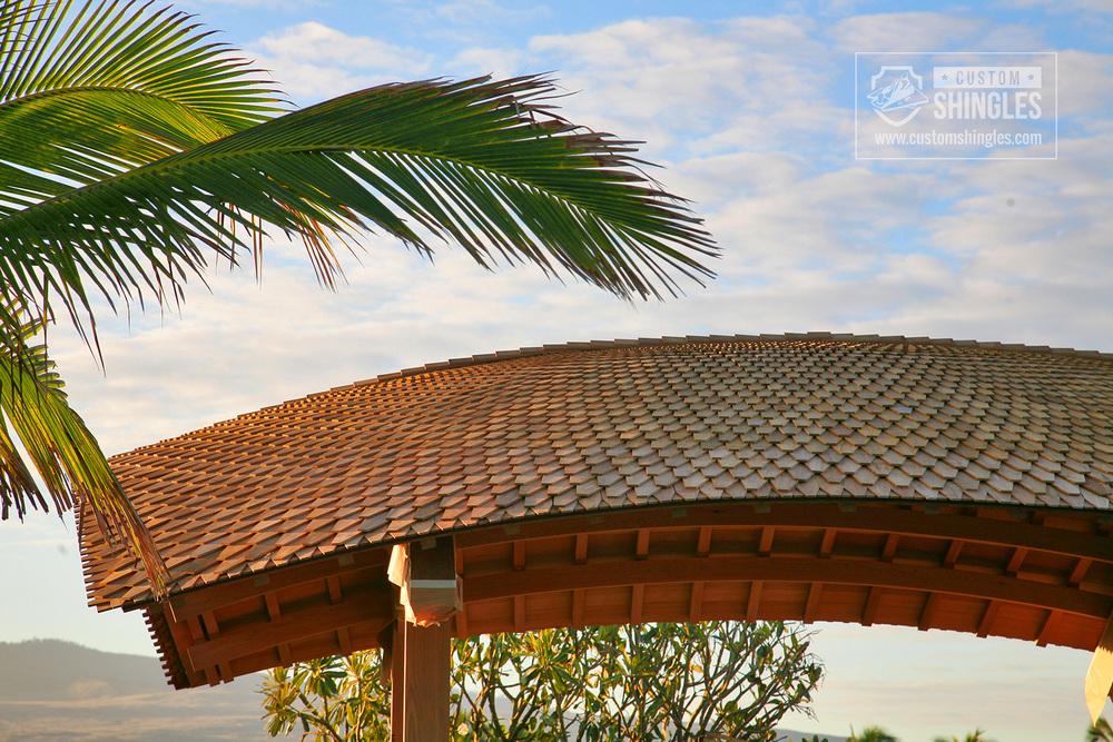 curved pavilion