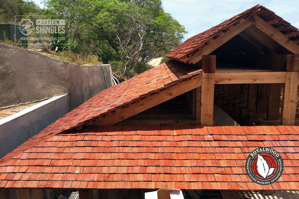 royalwood wallaba shingled roof