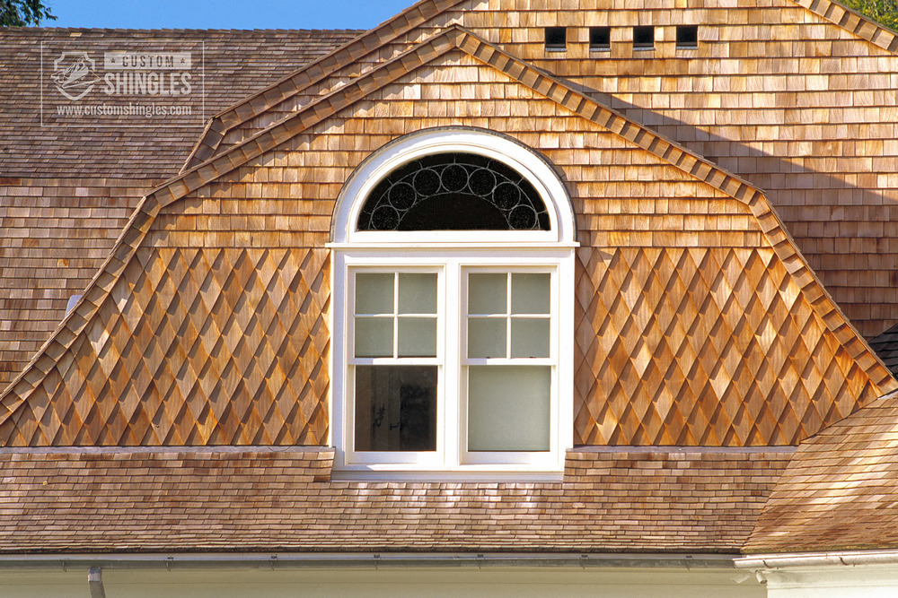 exterior natural finish fancy cutt shingles