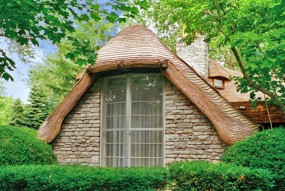 Example of a mushroom house