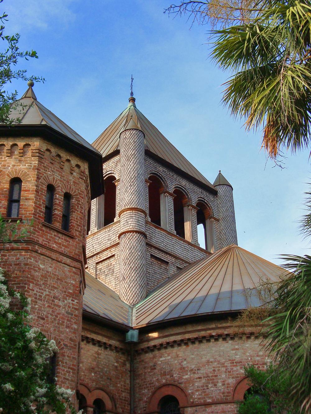 Charleston, SC Circular Church Decorative Sidewall Shingles (1).jpg
