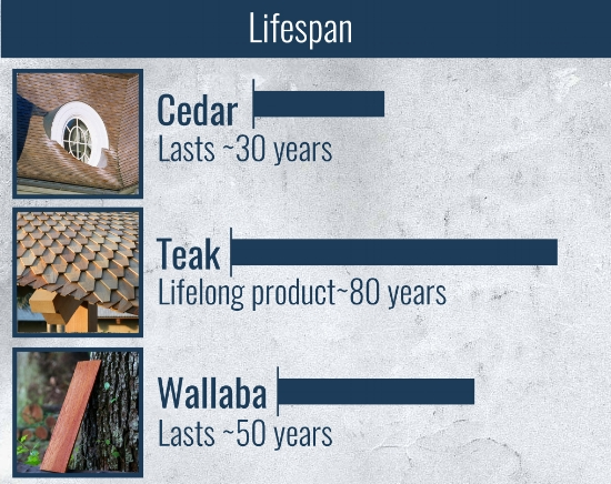 lifespan of custom shingles