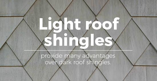 light roof vs dark roof shingles