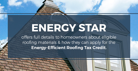 energy efficient roofing tax credit