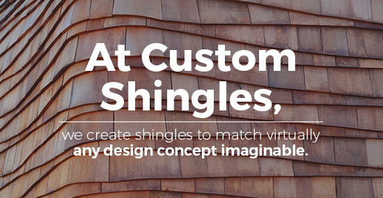 Custom Shingles to Match Historical Wood Roofs