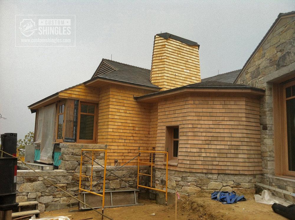cedar shake siding installation